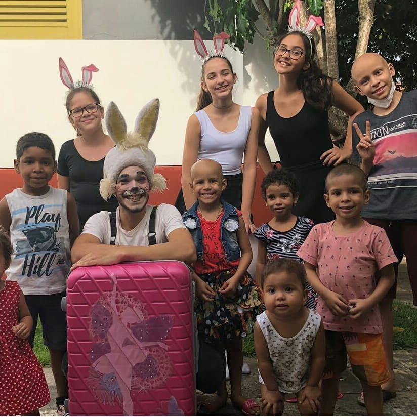 Doce Páscoa para a Casa das crianças com câncer
