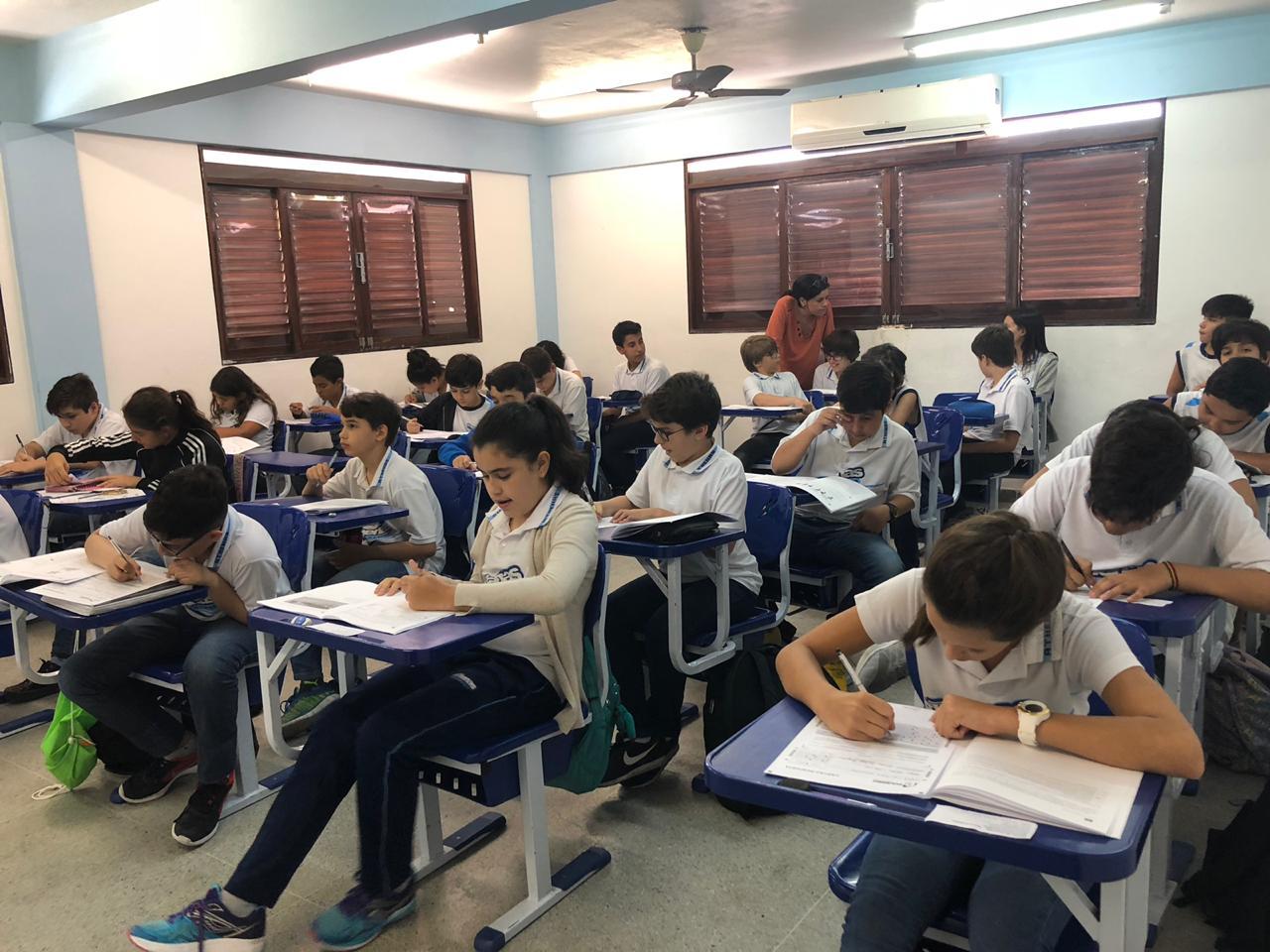 Segundo Simulado Poliedro aplicado no Ensino Fundamental II