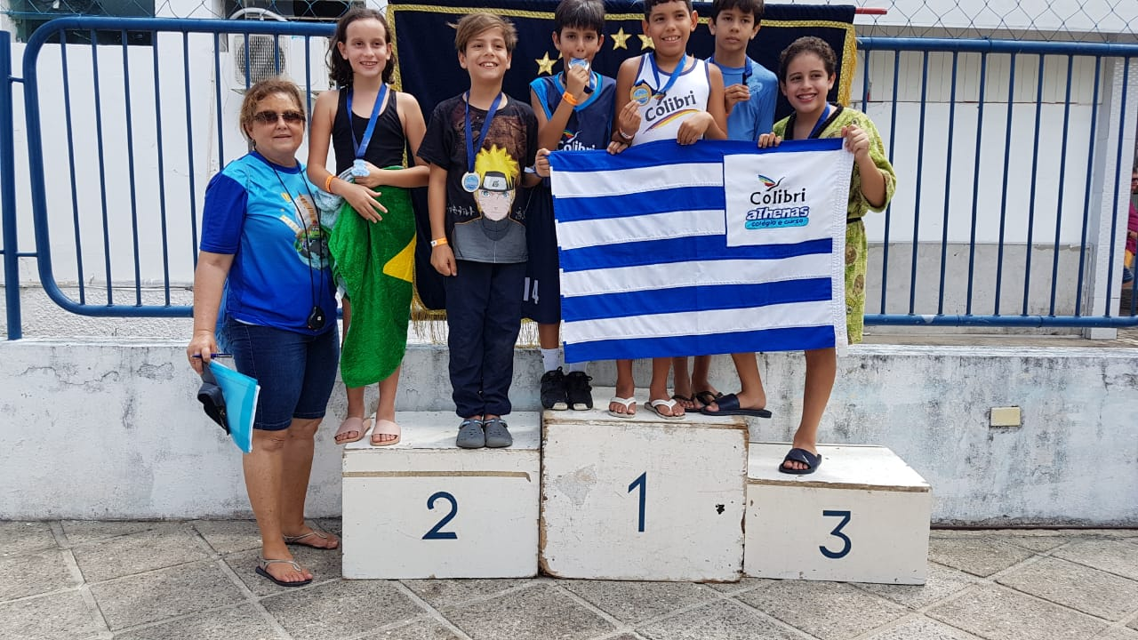 Campeonato de Natação.