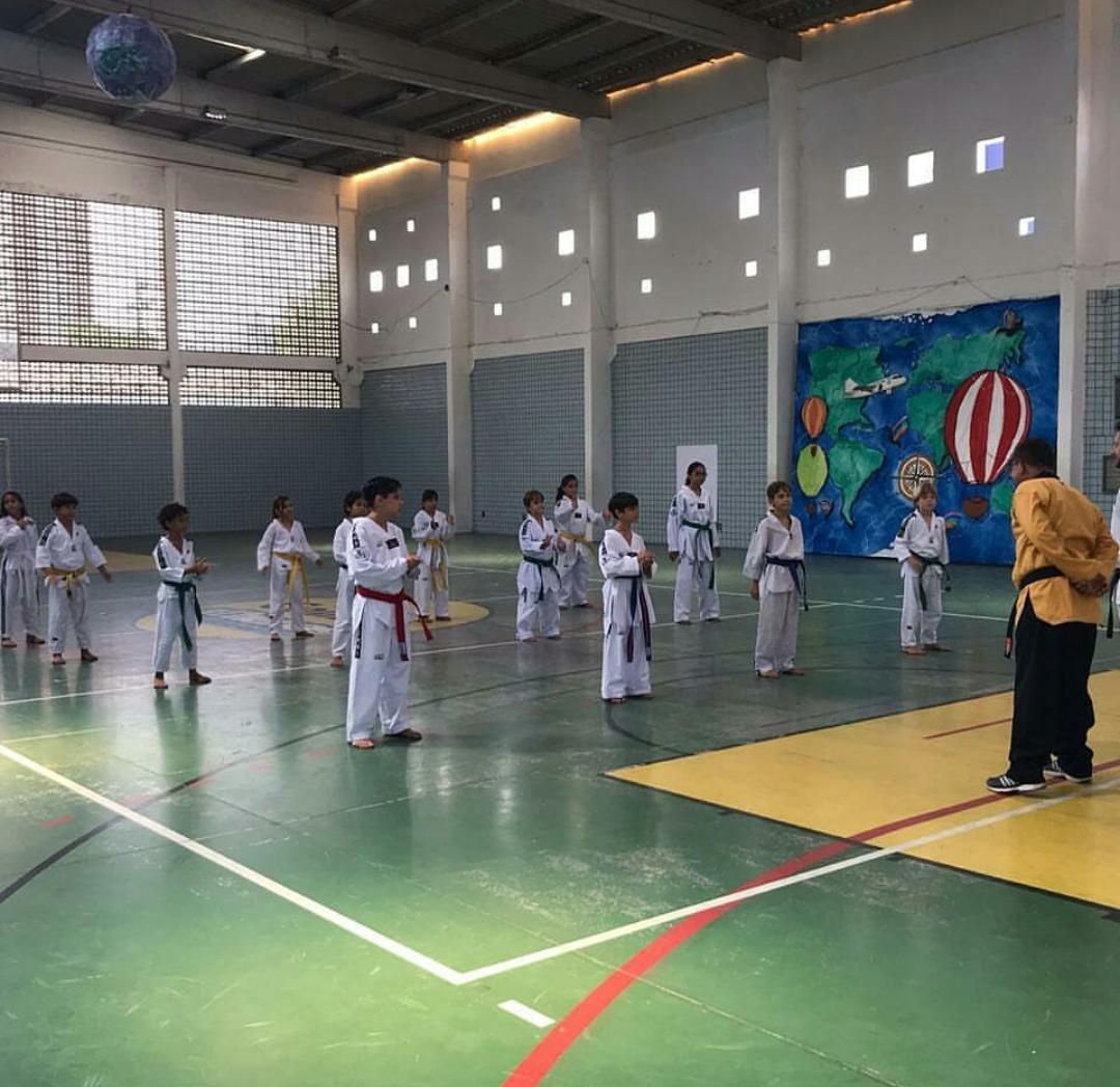 Graduação – Faixas no Taekwondo.