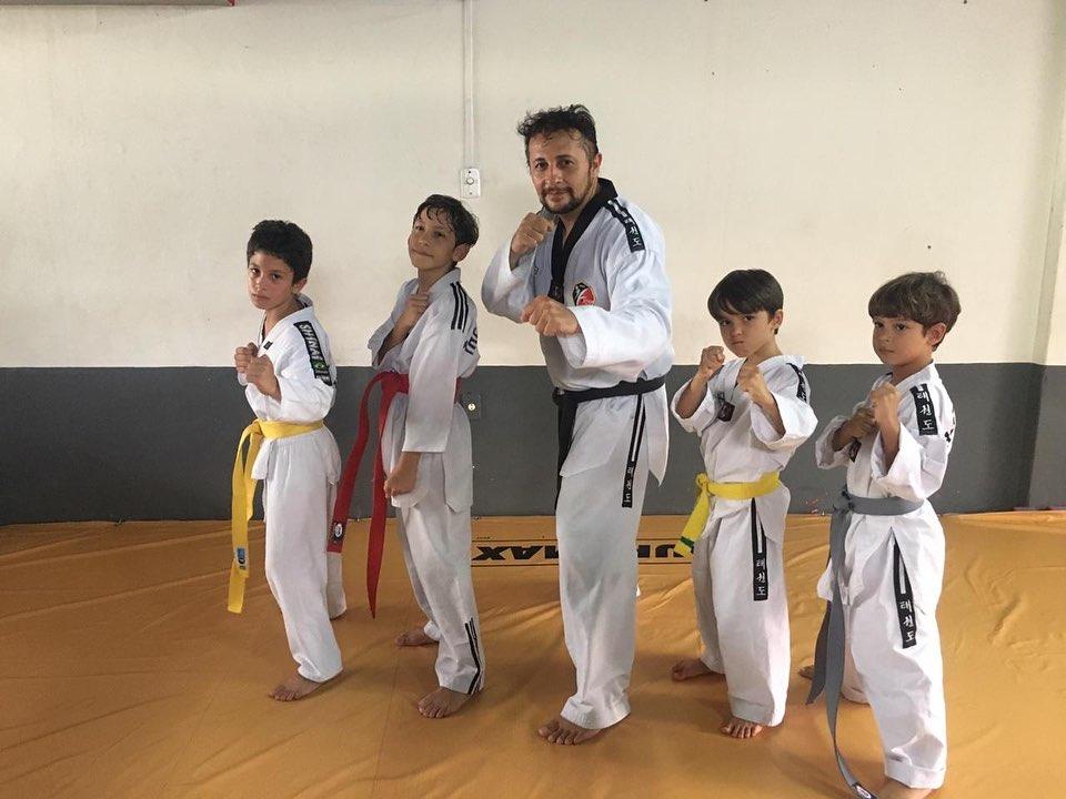 Troca de faixa do Taekwondo 🥋